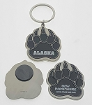 Bear Paw Key Tag and Magnet