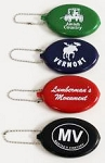 Squeeze Coin Purse Key Tag