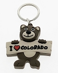 3D PVC Bear Key Tag