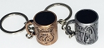Antique Beer Mug Key Tag