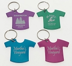 Aluminum T-Shirt Key Tag