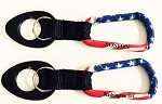 USA Carabiner w/Bottle Holder Strap