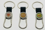 Carabiner/Belt Hook Key Tag