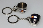 Coffee Cup Key Tag