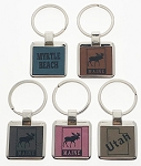 Color Deluxe Key Tag - Square