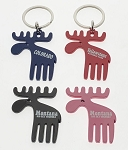 Cutie Moose Key Tag and Magnet