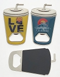 Cup Bottle Opener Magnet