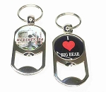 Dog Tag Bottle Opener Key Tag