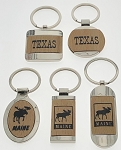 Fancy Wood Key Tags