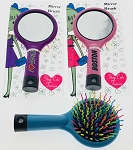 Hairbrush w/Mirror