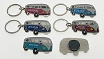 Hippy Van Key Tag and Magnet