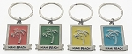 Tropical Palm Tree Key Tag