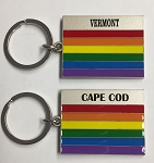 Rainbow Key Tag