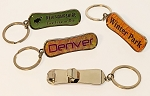 Snowboard Bottle Opener Key Tag