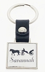 Strap Key Tag - Square
