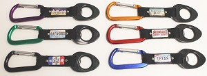 Carabiner w/Plate and Bottle Holder Strap