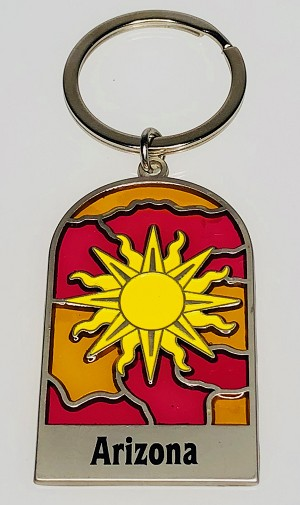 Sunburst Key Tag